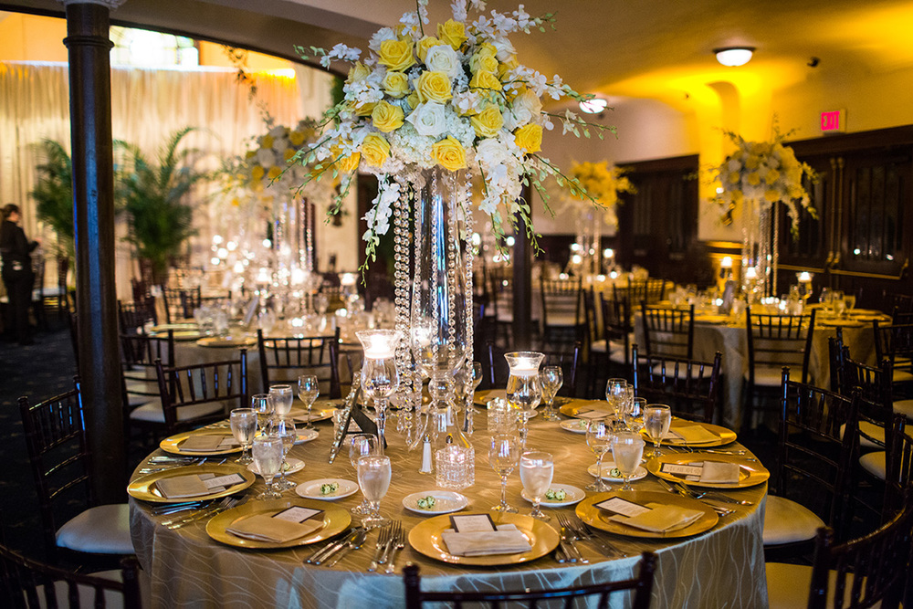 7_White and Yellow reception centerpiece.jpg