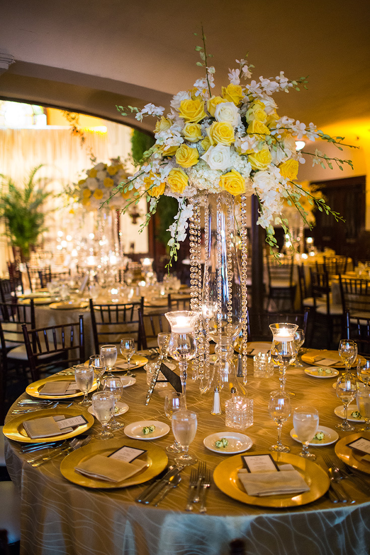 8_White and Yellow reception centerpiece.jpg