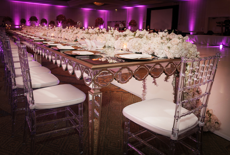glass mirror tables mirror tables for weddings artquest flowers