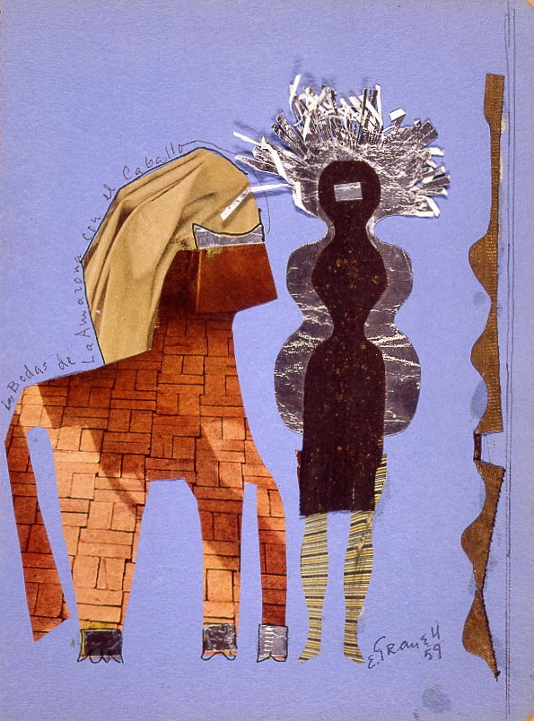Las bodas de la amazona con el caballo  (The Marriage of the Amazon and the Horse) 1959