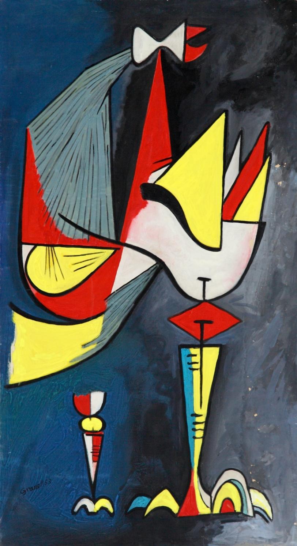 Traje de fiesta del Pájaro Pi (Pi Bird's Elegant Outfit) 1953
