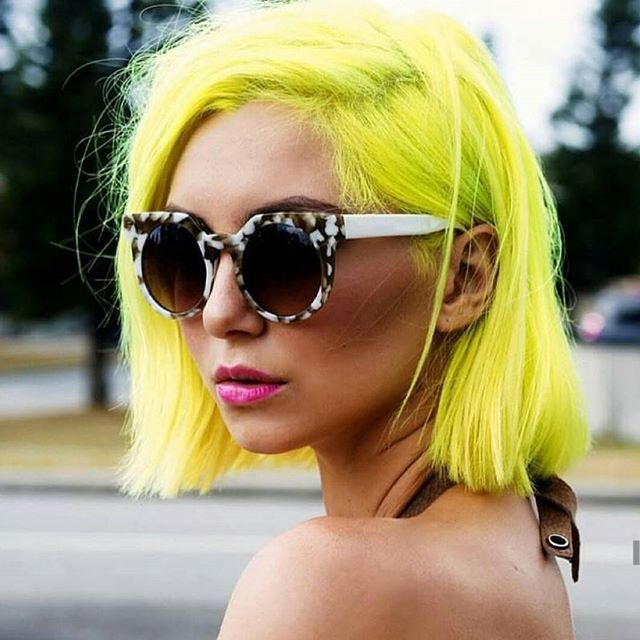 Of I could...I SO would!  Would you? Comment below! . . . #beyondaveil #neonhair #brighthairdontcare #80'sbaby