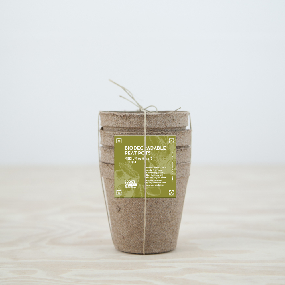 Peat pots packaging
