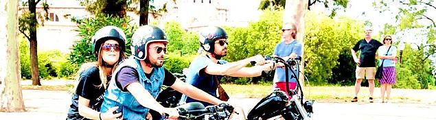 Длительность: 90 минут Стоимость: €150, €200 с фотосессией Потрясающая возможность познакомиться сБарселоной необычным способом— спассажирского сидения крутейшего мотоцикла.