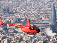 Duration 10 minutes Price: €114 10 minutes air sightseeing tour above all the main landmarks and attractions of the capital of Catalonia.