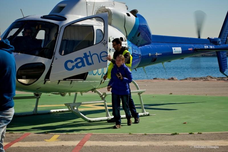 Садимся в вертолет