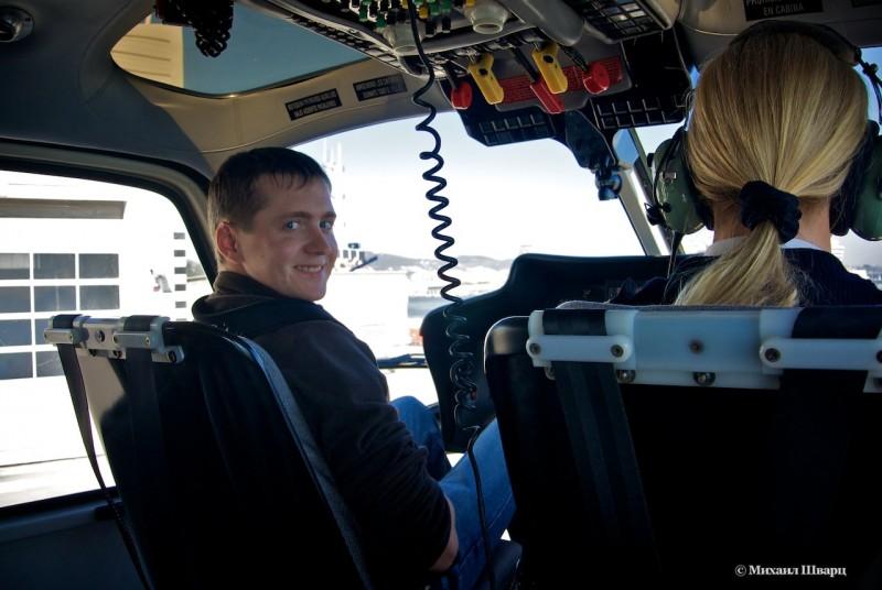 Я рядом с пилотом :-)