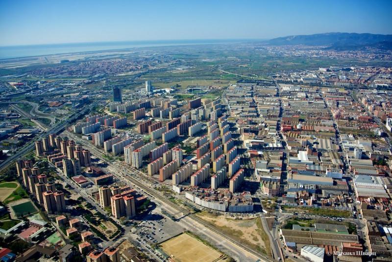 Спальный район Барселоны