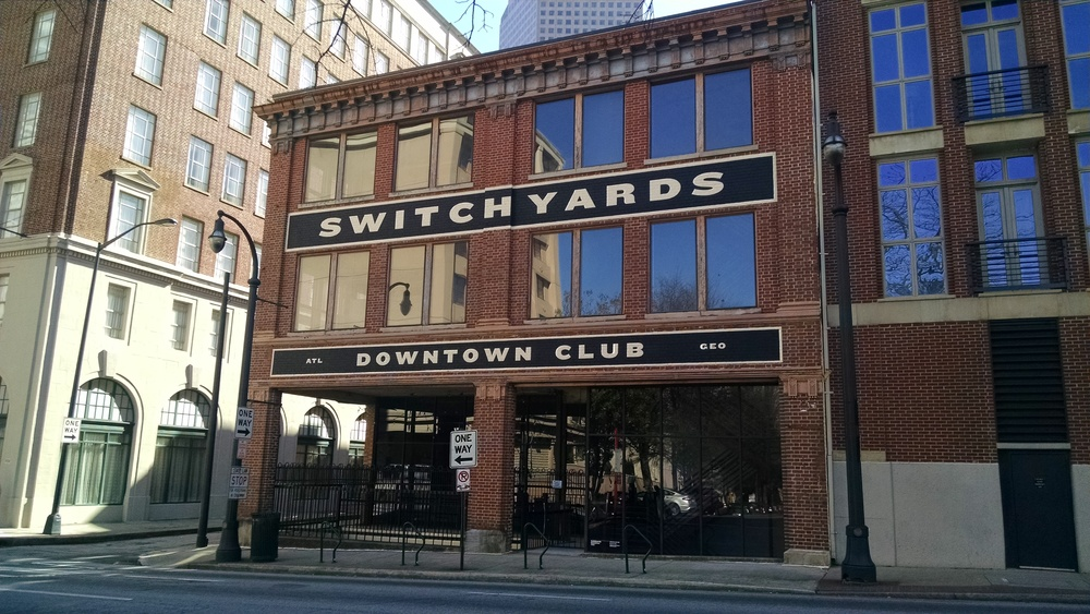 The obligatory  across-the-street Switchyards shot. Which of course looks like everyone else's  —  it IS the building's best side, after all.