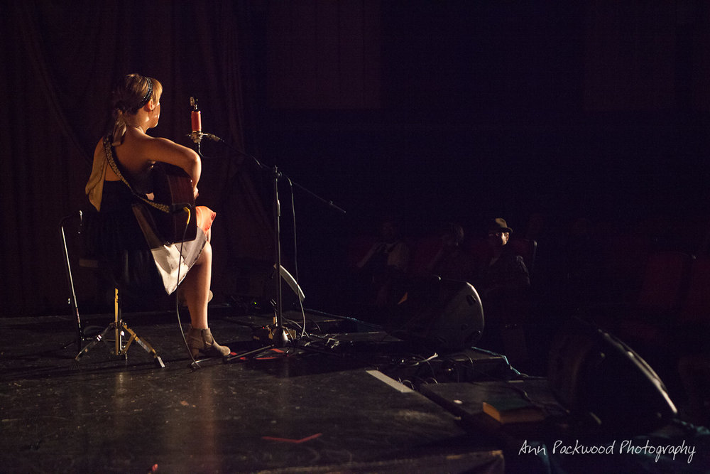 Singer-songwriter Adron performs at the Aug. 13 Good Gracious show. PHOTO | Ann Packwood Photography