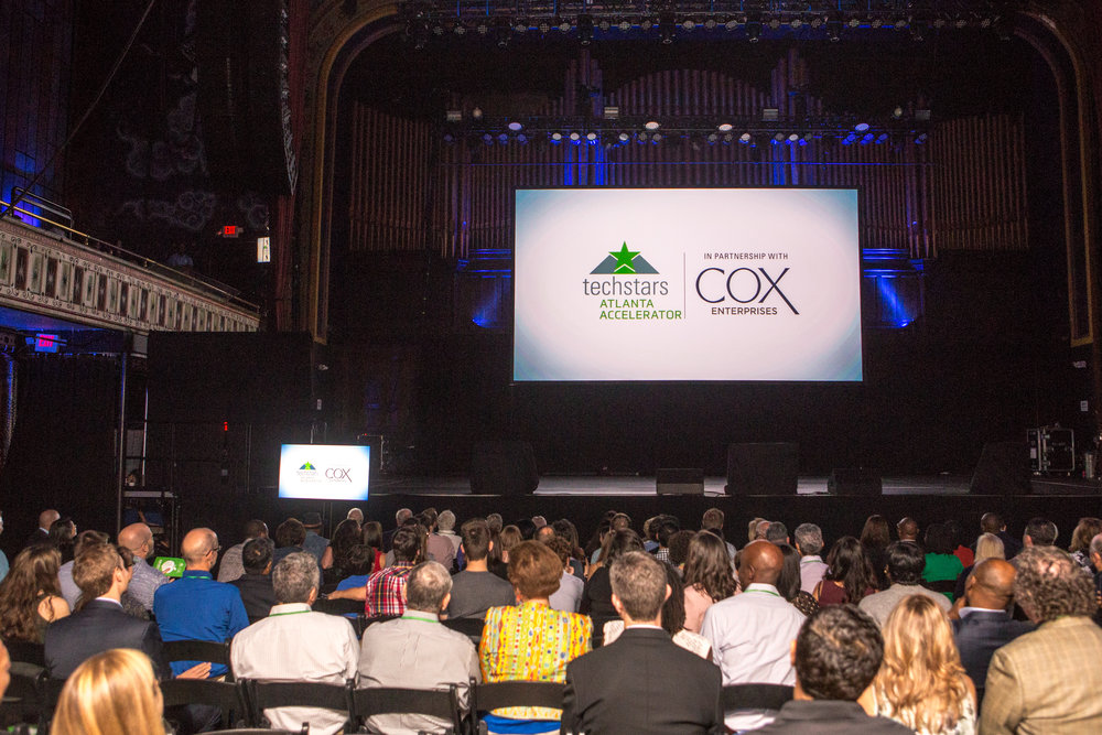 Demo Day is the  culmination of the 13-weeks Techstars Atlanta program (in partnership with Cox Enterprises) | PHOTO:  Jenni Girtman