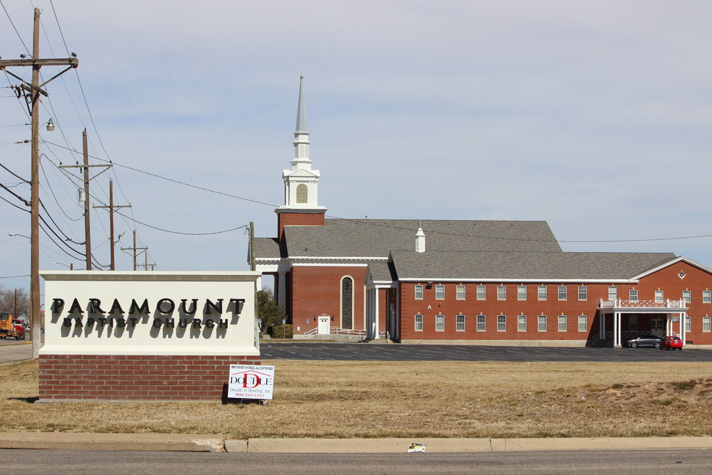 New roof at Paramount Baptist Church in Amarillo, TX