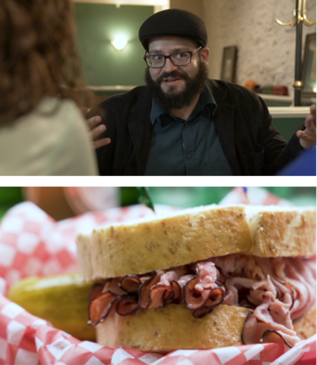 Episode 4:DELI - Guest: Comedian Dan Goldberg Jewish Comedian Dan Goldberg  gives us the inside scoop on Winnipeg's best delis.  Jorge takes Joanna on a cross-town trip that reveals a Winnipeg tradition and the perfect recipe for any sandwich.