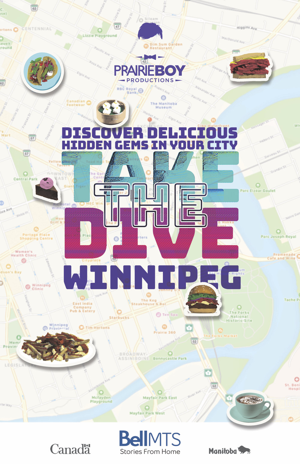 Take the Dive (2018) Lifestyle Food Series for Bell MTS and Travel Manitoba