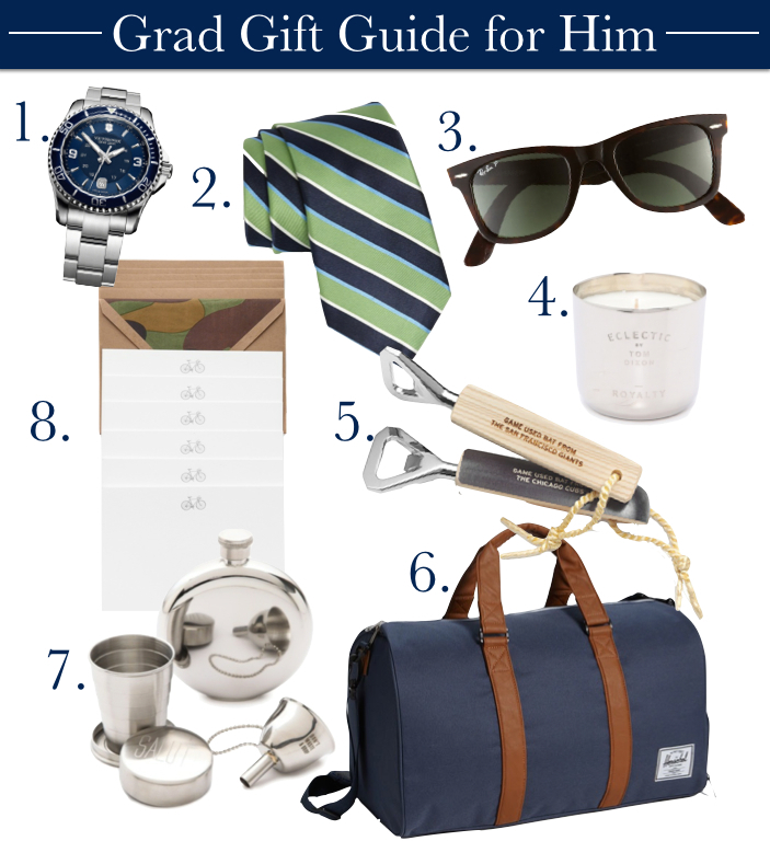 grad gift guide for him