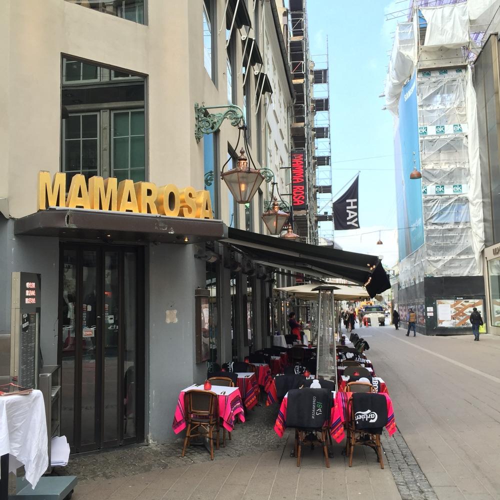 Gorgeous signage in Strøget in Copenhagen