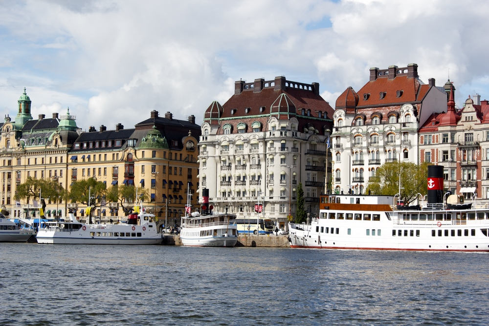 Stockholm by water