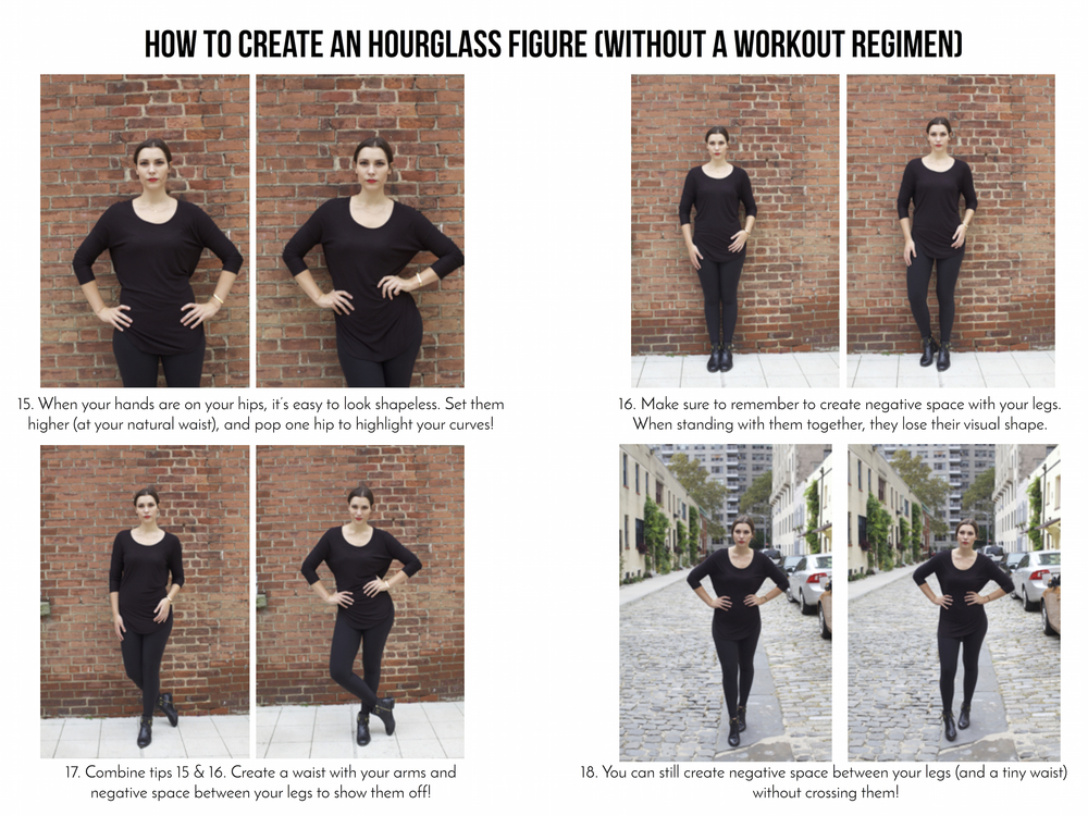 25 modeling tips (creating an hourglass figure)