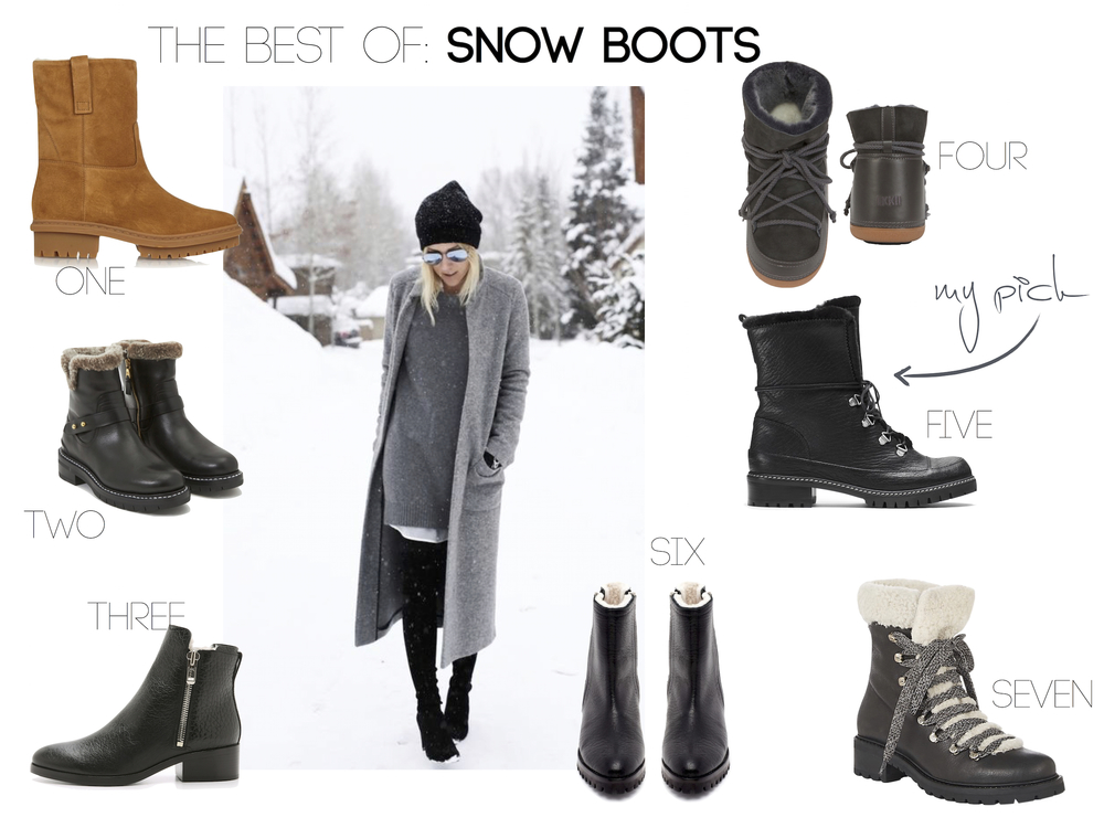 The Nouveaux // The Best Snow Boots for Winter