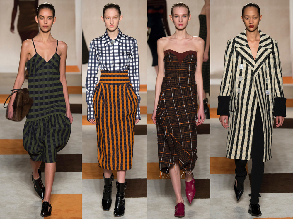 Victoria Beckham's Autumn/Winter 2016 collection, images courtesy of  VogueRunway.com