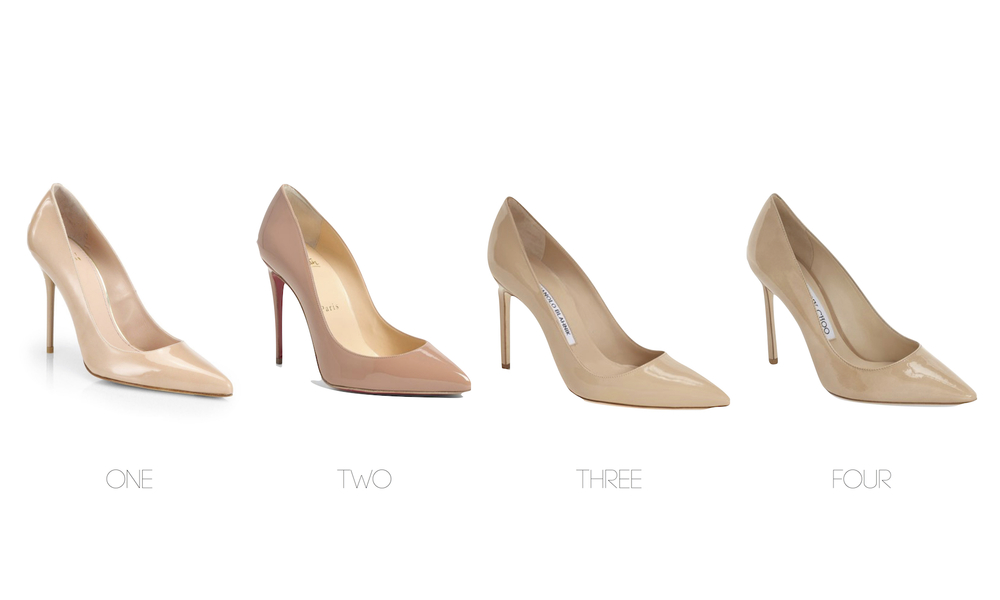 one style, four pumps