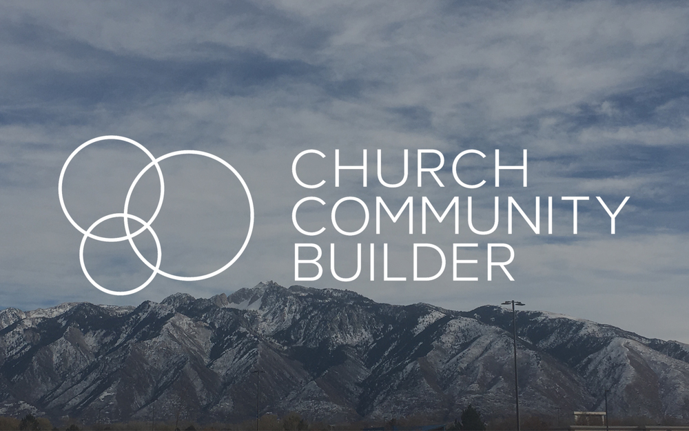 WE USE CHURCH COMMUNITY BUILDER FOR OUR ONLINE DATABASE.