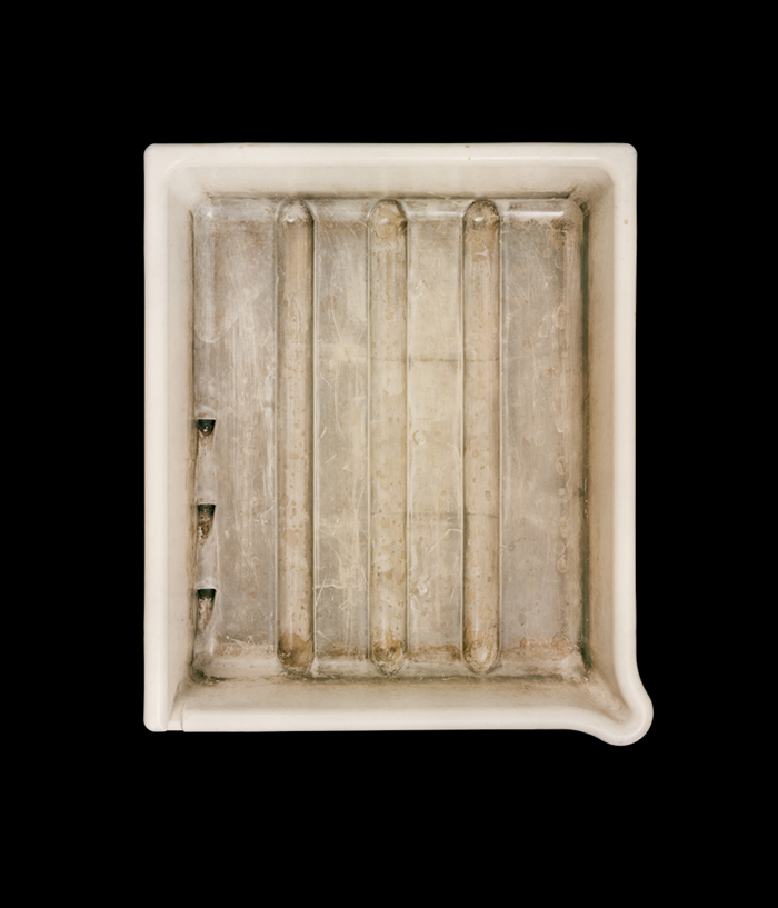 Ken Rosenthal's Developer Tray, 2012 . ©  John Cyr , from his book  Developer Trays  (powerHouse Books, 2014)