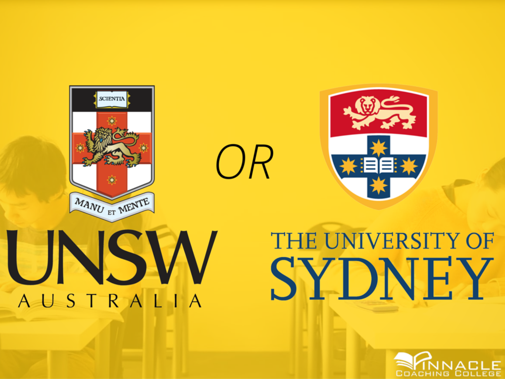 usyd or unsw which ones better how do i pick should i