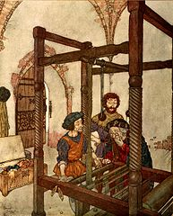 Edmund Dulac : The Empty Loom