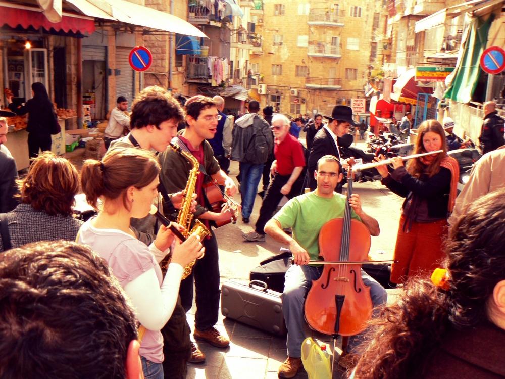 mahane yehuda market, jerusalem