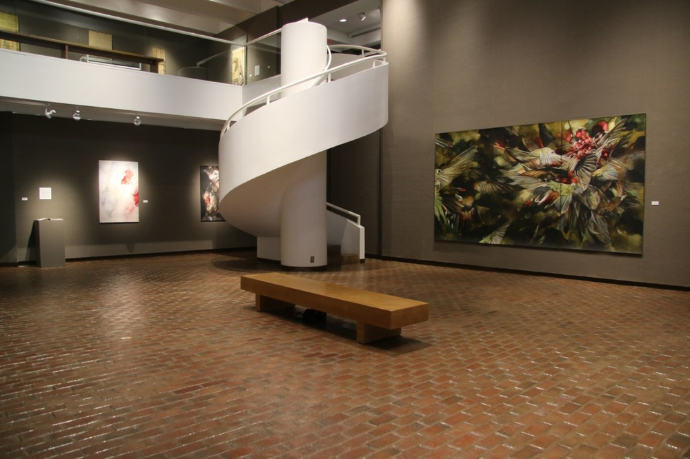 Sky Burial (installation view)