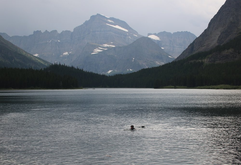 Becoming Water, Swiftcurrent Lake