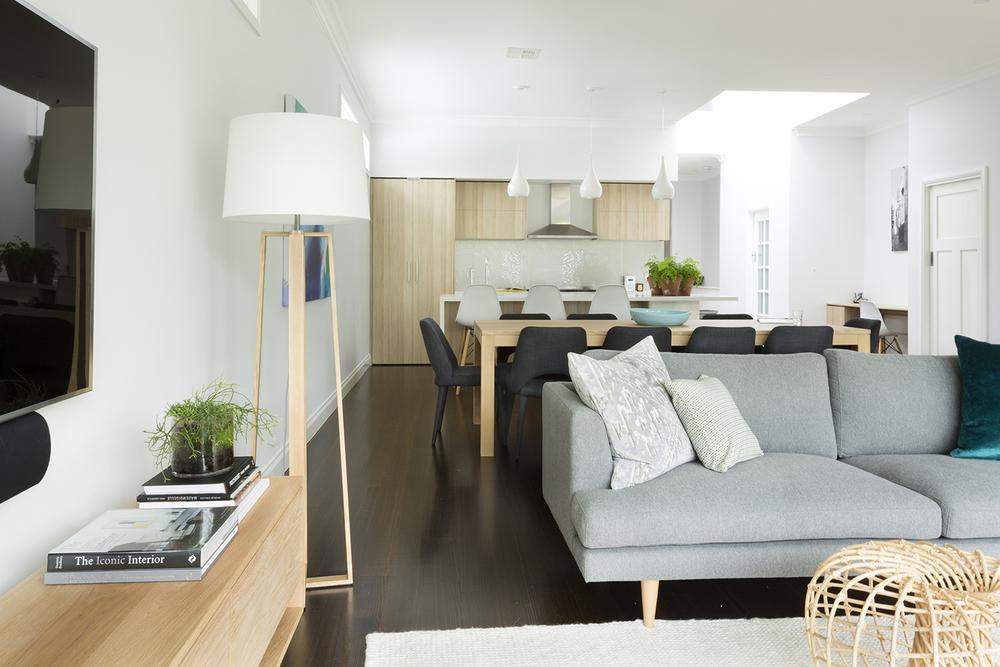 Interior Designer Melbourne Open Plan Living Makeover