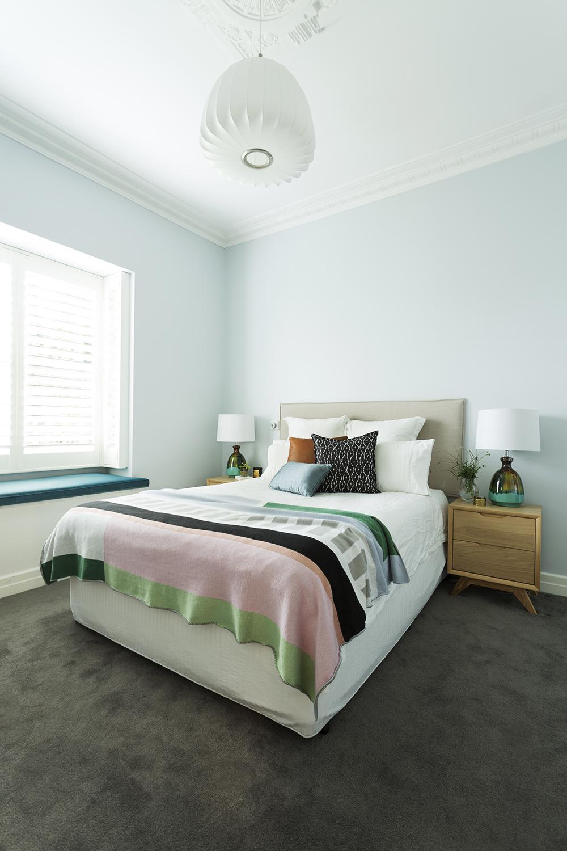 Bedroom design by Melbourne interior designer Meredith Lee