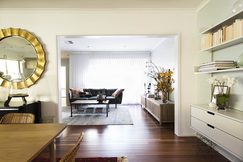 Kew living room design by Melbourne interior designer Meredith Lee