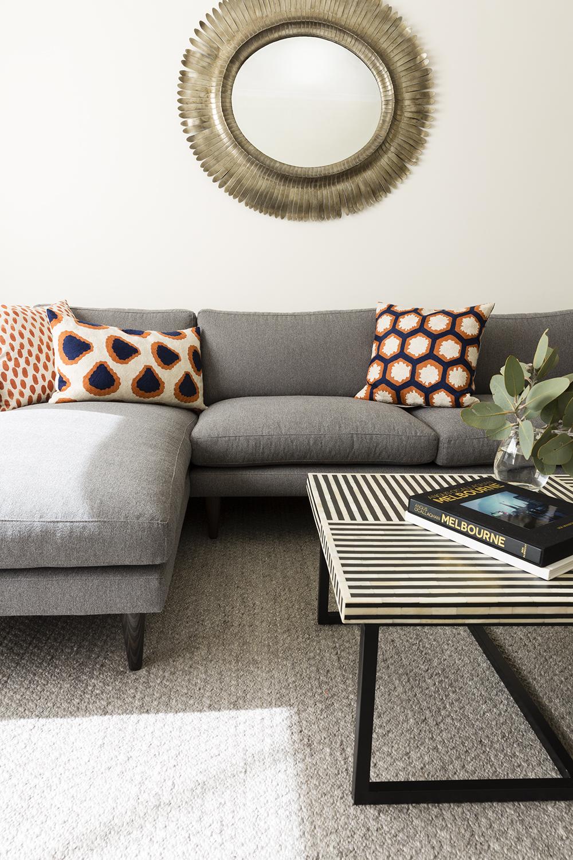 living room makeover interior designer melbourne