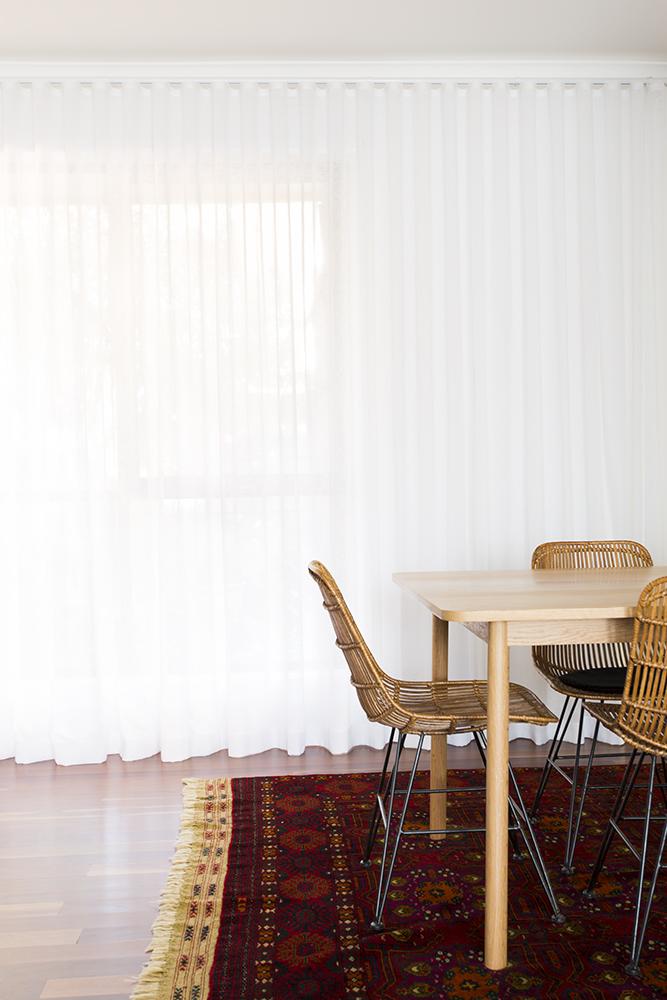 Ripplefold curtains interior designer Melbourne