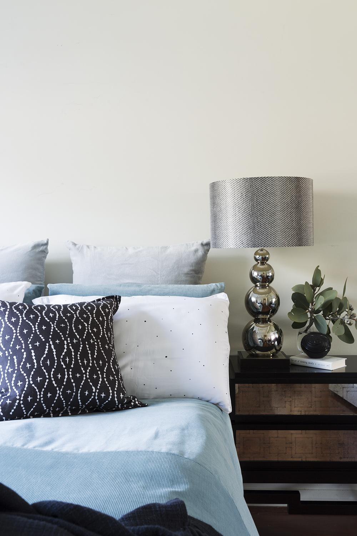 Black Rock bedroom design by Melbourne interior designer Meredith Lee