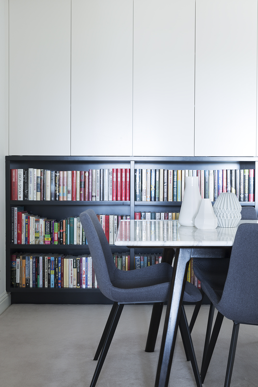 Apartment dining room design by Melbourne interior designer Meredith Lee