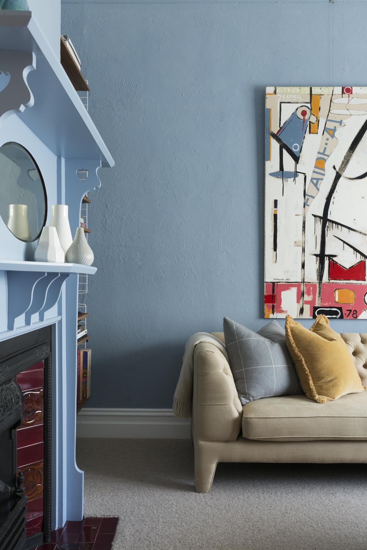 Clifton Hill house sitting room design by Melbourne interior designer Meredith Lee