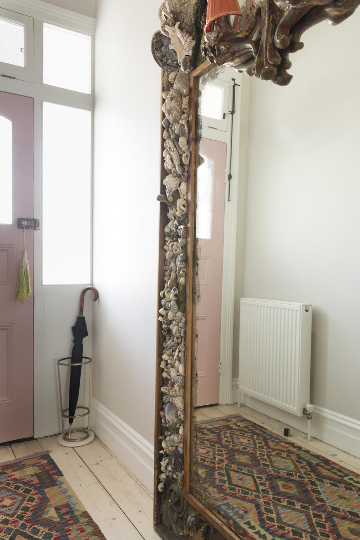 Clifton Hill house hallway entry design by Melbourne interior designer Meredith Lee