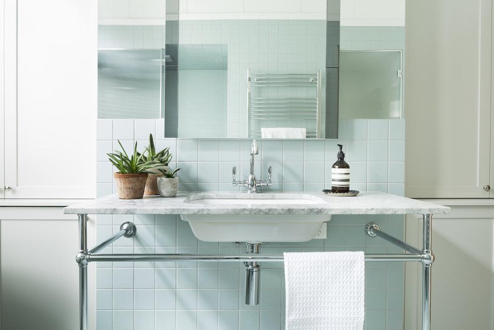 Clifton Hill house bathroom design by Melbourne interior designer Meredith Lee