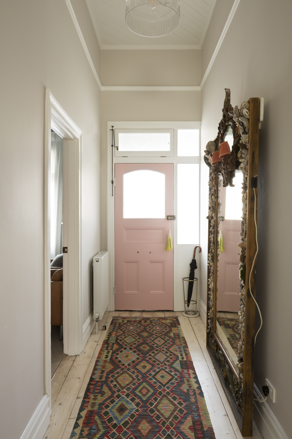 Clifton Hill house hallway entry design by Melbourne interior designer Meredith Lee
