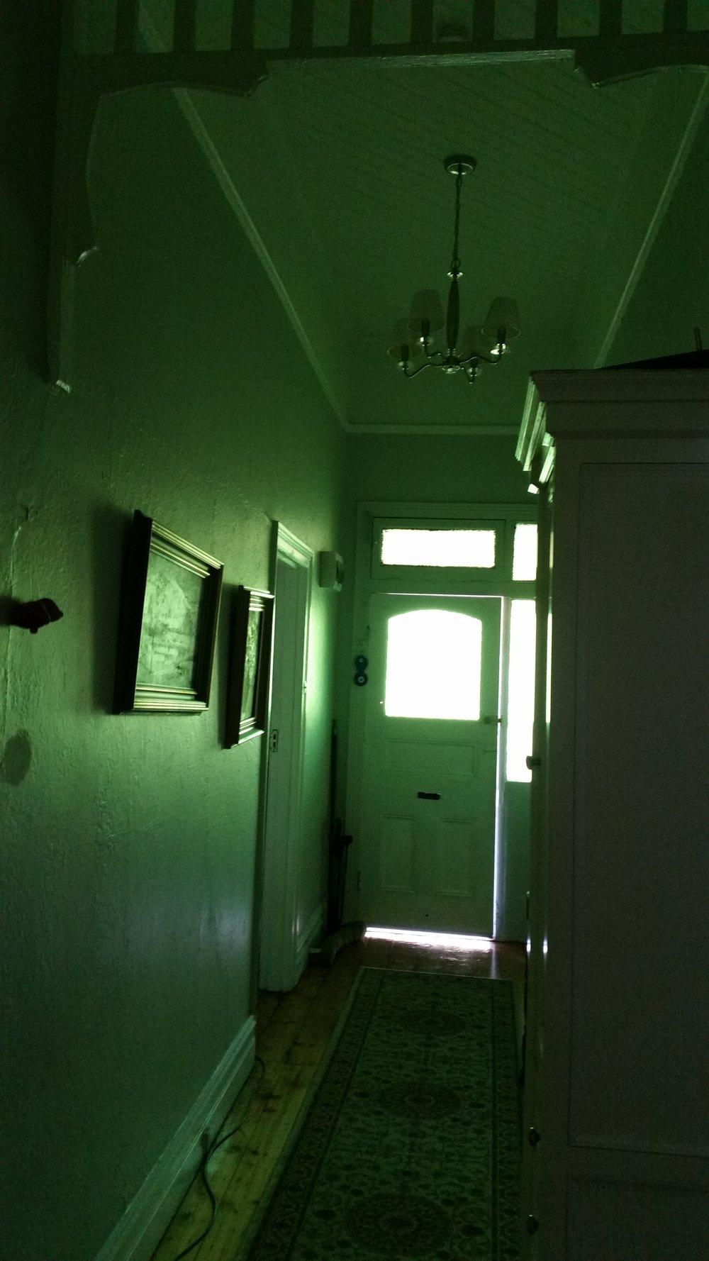 Hallway design before renovation by Melbourne interior designer Meredith Lee