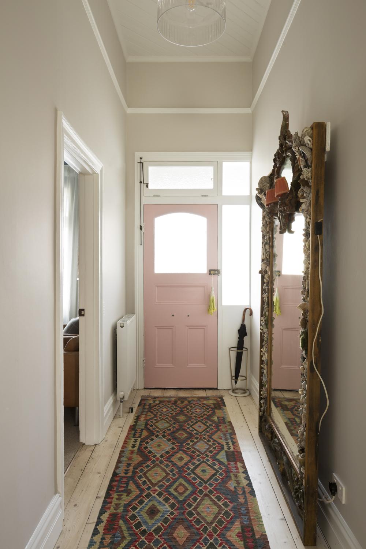 Clifton Hill hallway design by Melbourne interior designer Meredith Lee