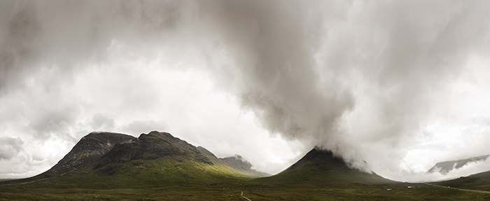 A brooding Glencoe, Highlands, Scotland - Aug 2014
