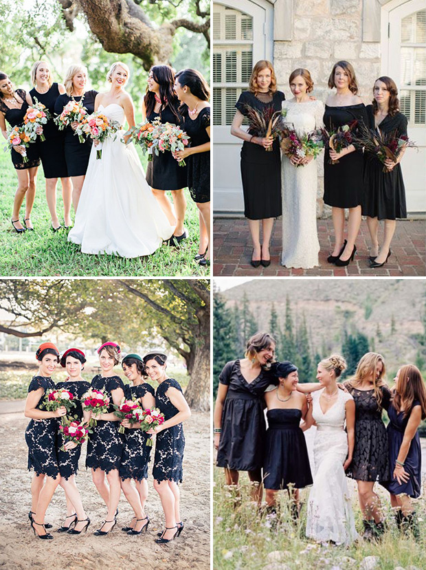 Photo credit: http://onefabday.com/uk/black-bridesmaids-dresses/?redirect=1