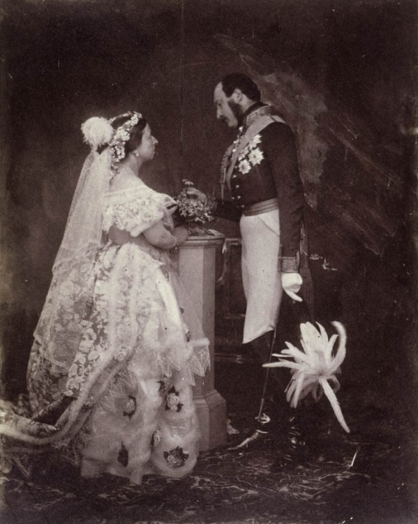 Queen_Victoria_Albert_1854_wedding_picture-e1285125376763.jpg
