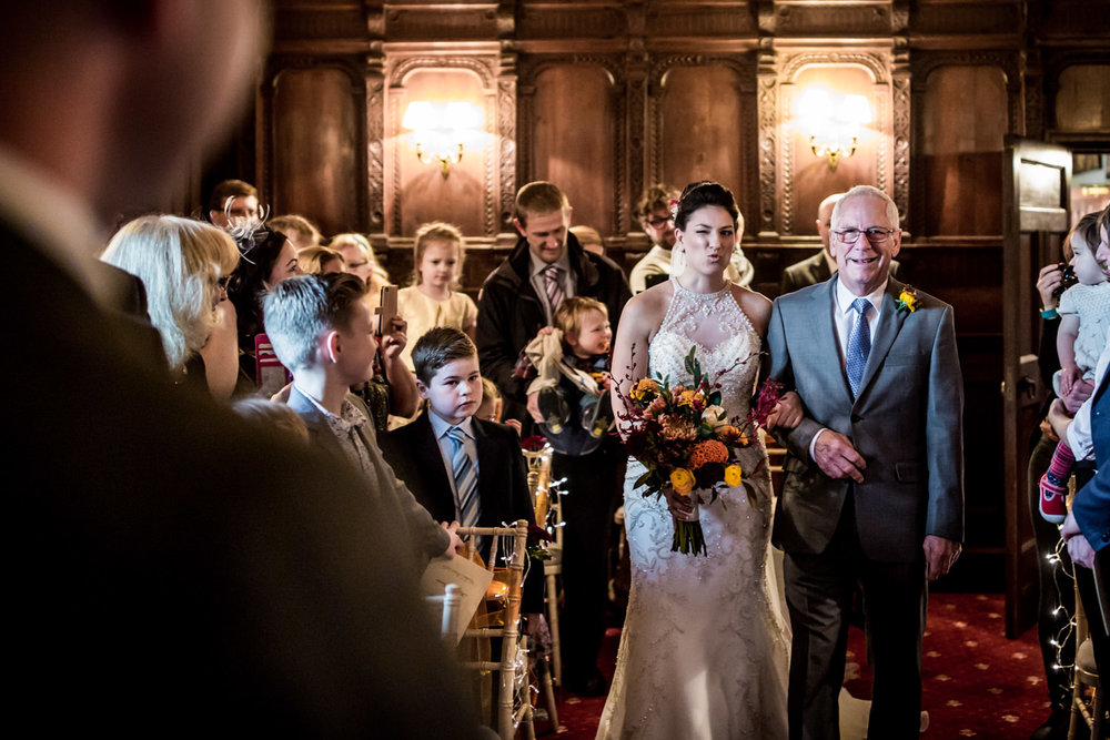 This is Nadine walking down the aisle. What a hero ahaha. @woodhallmanor #notallheroeswearcapes #himandherweddingphotography #realwedding #suffolkwedding #suffolkphotographer #suffolkweddingphotographer #blackandwhite #weddingseason #weddingphotos #creativewedding #bride #weddingpictures #weddingceremony #weddingbouquet #weddingflowers #junebugweddings #photobugcommunity #vscocam #risingtidesociety #heyheyhellomay #fpme #wedphotoinspiration #thatsdarling #ftmedd #lookslikefilm #magnoliarouge #greenweddingshoes #theknot #fearlessphotographer