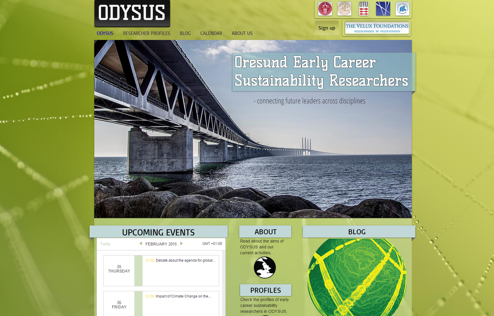 ODYSUS: (hopefully succeeding in) connecting future leaders across disciplines. Click the image.